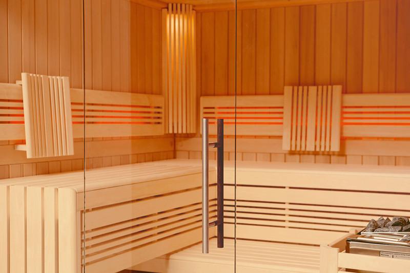 wellness f r zuhause perfektion. Black Bedroom Furniture Sets. Home Design Ideas